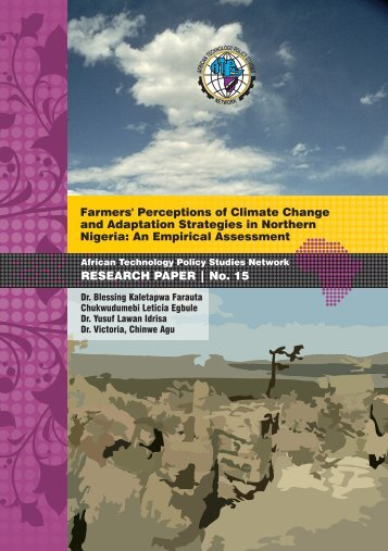 Farmers' Perceptions of Climate Change and Adaptation Strategies ...