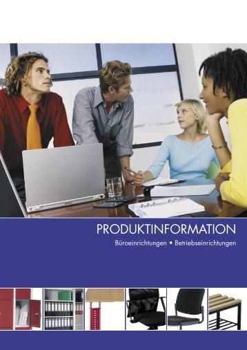 Büroeinrichtungen • Betriebseinrichtungen