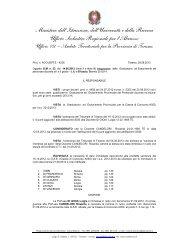 Rettifica graduatoria a esaurimento I e II grado