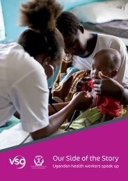 Our Side of the Story - Ugandan health workers speak up - VSO