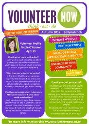 Ballynahinch - Volunteer Now