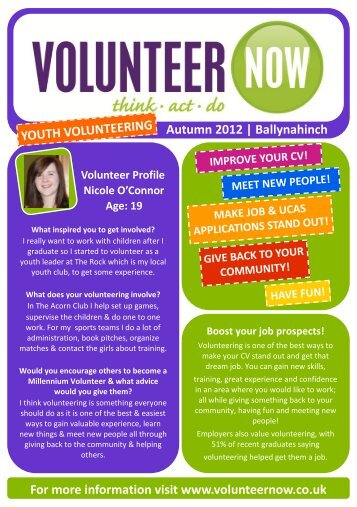 Ballynahinch - Volunteer Now