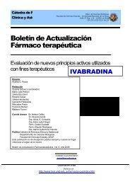 Boletín 6 - Departamento de Ciencias Biológicas - Universidad ...