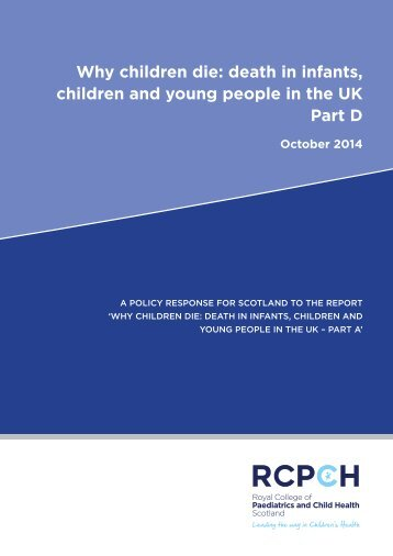 Death in Children and Young People in the UK - Part D - FINAL (3)