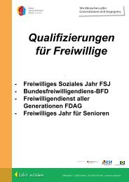 Freiwilliges Soziales Jahr FSJ - Kreisvolkshochschule Norden