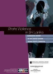 State Violence in Sri Lanka - World Organisation Against Torture