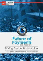 Driving Payments Innovation - CeBIT Australia