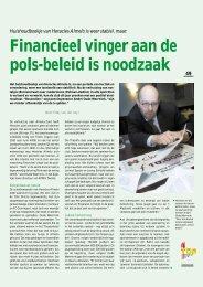 Financieel vinger aan de pols-beleid is noodzaak 49 - Twentevisie