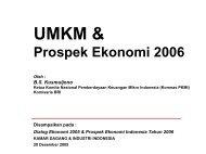 UMKM & - Kadin Indonesia