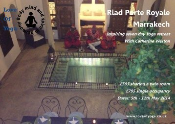 Yoga+Retreat+-+Porte+Royale+May+2014+with+Catherine