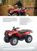 Honda all Terrain VeHicles - Hjallerup Maskinforretning A/S - Page 2