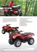 Honda all Terrain VeHicles - Hjallerup Maskinforretning A/S - Page 3