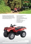 Honda all Terrain VeHicles - Hjallerup Maskinforretning A/S - Page 4