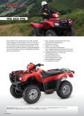 Honda all Terrain VeHicles - Hjallerup Maskinforretning A/S - Page 5