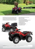 Honda all Terrain VeHicles - Hjallerup Maskinforretning A/S - Page 6