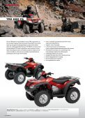 Honda all Terrain VeHicles - Hjallerup Maskinforretning A/S - Page 7