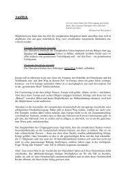 Ausblick - Examen Europaeum