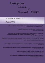 Volume 5 Issue 2 - Ozean Publications