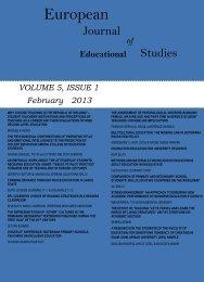 Volume 5 Issue 1 - Ozean Publications