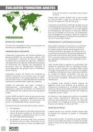 Formation à la comptabilité en faveur d'une ... - Planète Urgence