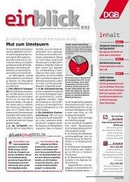 gewerkschaften - Einblick-archiv.dgb.de - DGB