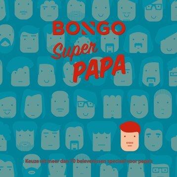 Keuze uit meer dan 70 belevenissen speciaal voor papa's
