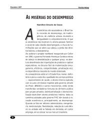 AS MISÉRIAS DO DESEMPREGO - Adusp