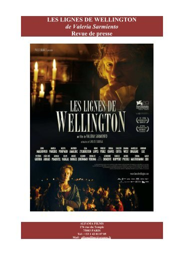 LES LIGNES DE WELLINGTON - revue de presse - best of - ADEPBA