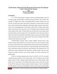 Pembentukan, Sinkronisasi dan Harmonisasai ... - Kadin Indonesia