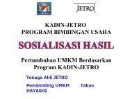 Pembimbing Usaha adalah - Kadin Indonesia
