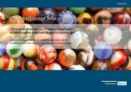 Danske Invest Mix-afdelinger