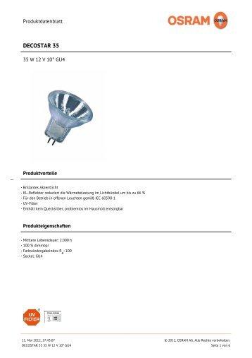 DECOSTAR 35 - Leuchtstark