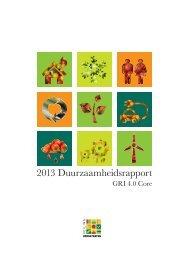 Duurzaamheidsverslag 2012 - Veiling Hoogstraten