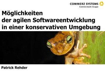 Möglichkeiten der agilen Softwareentwicklung in ... - lippo-design.de
