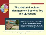 (NIMS): Top Ten Questions - Readiness and Emergency ...