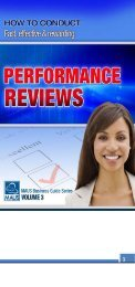 Performance review - MAUS Business Systems