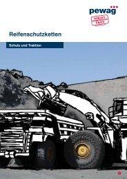 Reifenschutzketten 2009 / 2010 Schutz und Traktion - Pewag