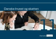 Danske Invest og skatten fra januar 2011, som du kan downloade her