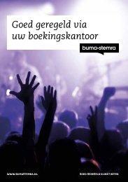 Download hier de brochure voor meer informatie - Buma/Stemra