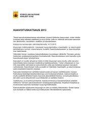 Kaavoituskatsaus 2013 - Kokkola