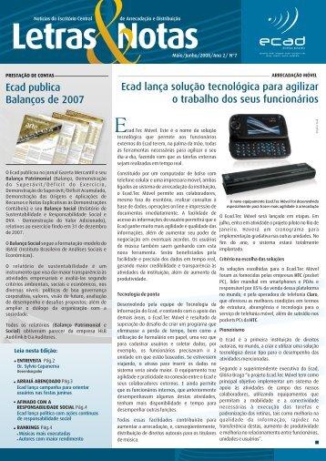 Ecad lança solução tecnológica para agilizar o trabalho dos ... - UBC