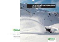 schneeräum-fahrzeug serie nd echte spezialisten - Merlo Deutschland