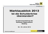 Download Marktausblick 2013 - RRB Mödling