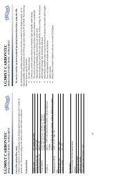 lg300xt carbontec operating instructions - supplement - Field Target