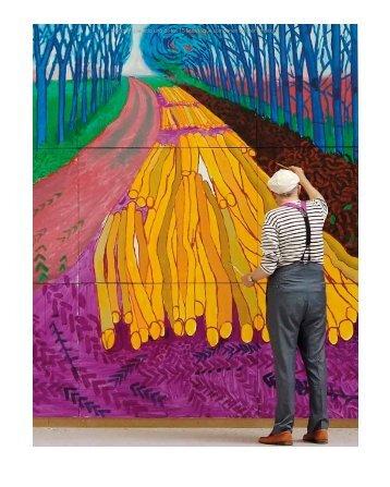 61 David Hockney, una revitalización de la pintura. - Martín Bonadeo