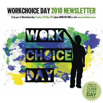 WORKCHOICE DAY 2010 NEWSLETTER - Workchoice Trust