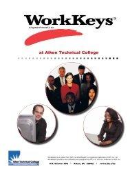 Work Keys - Aiken Technical College