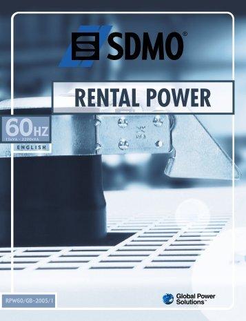 RENTAL POWER - Kraft Power