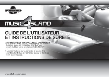 FLO5002-Music island 4 User Manual_(Fra) - Stallion Sport Ltd.