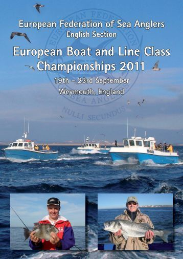 European Boat and Line Class Championships 2011
